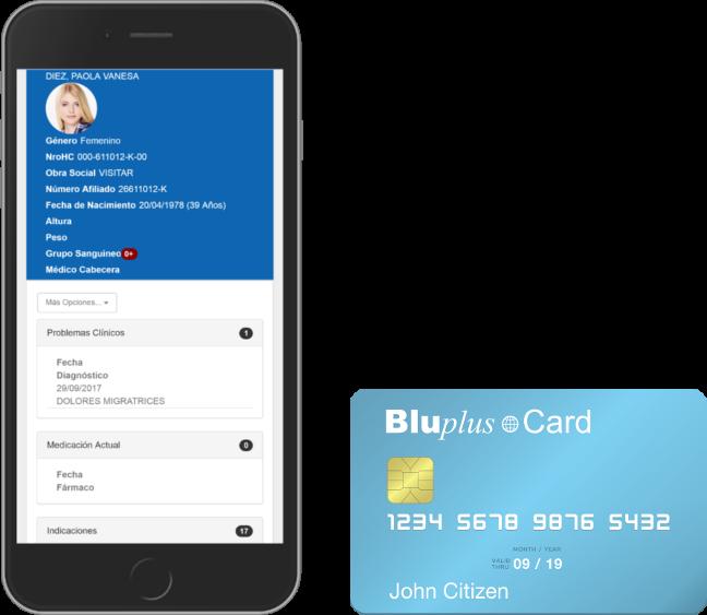 BluPlus PHR Platform Card